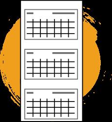 kalendarze-trojdzielne-ikona-pomarancz
